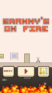 Granny's On Fire 1.0.3 screenshot 1