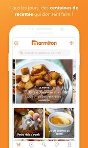Marmiton : Recettes gourmandes 5.2.7-minApi21 screenshot 1