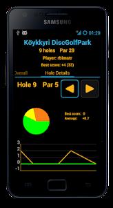 Disc Caddy 2 - Disc Golf app  screenshot 6