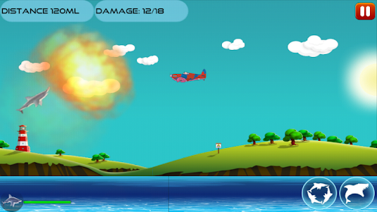 Angry Shark 1.0.4 screenshot 7