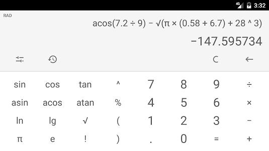 Calculator (no ads) 2018.9.25 screenshot 4
