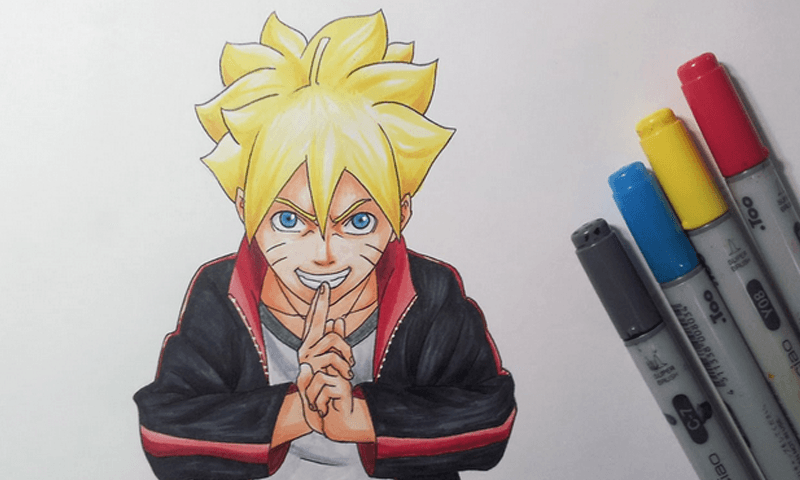 How To Draw Boruto 10 Apk Download Android Educational Games