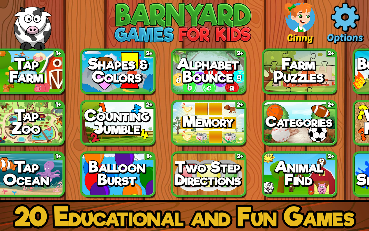 Barnyard Games For Kids 6 0 APK Download - Android