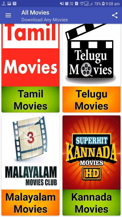 on movies app free download