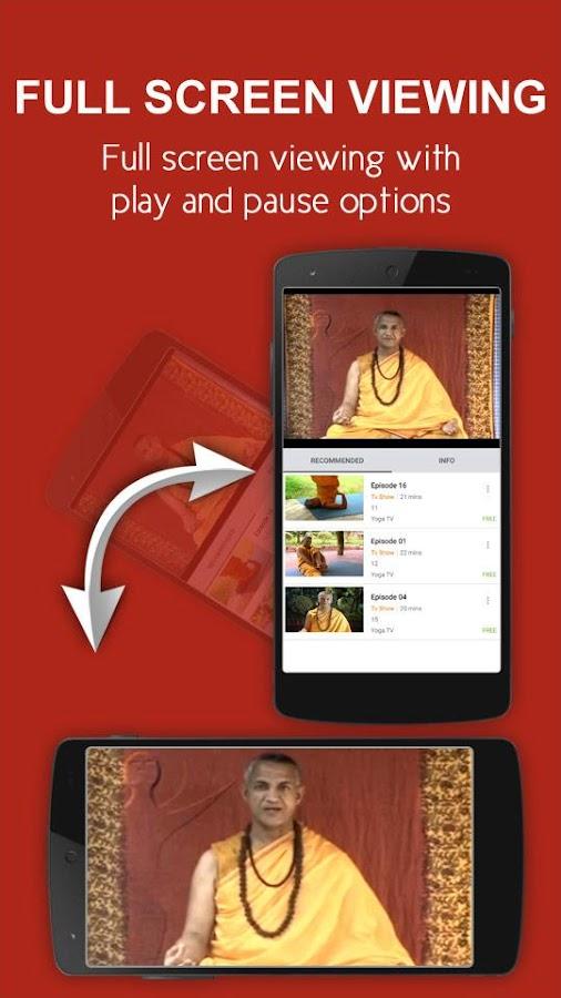 nexGTv Yoga: TV Shows Videos 1 6 APK Download - Android