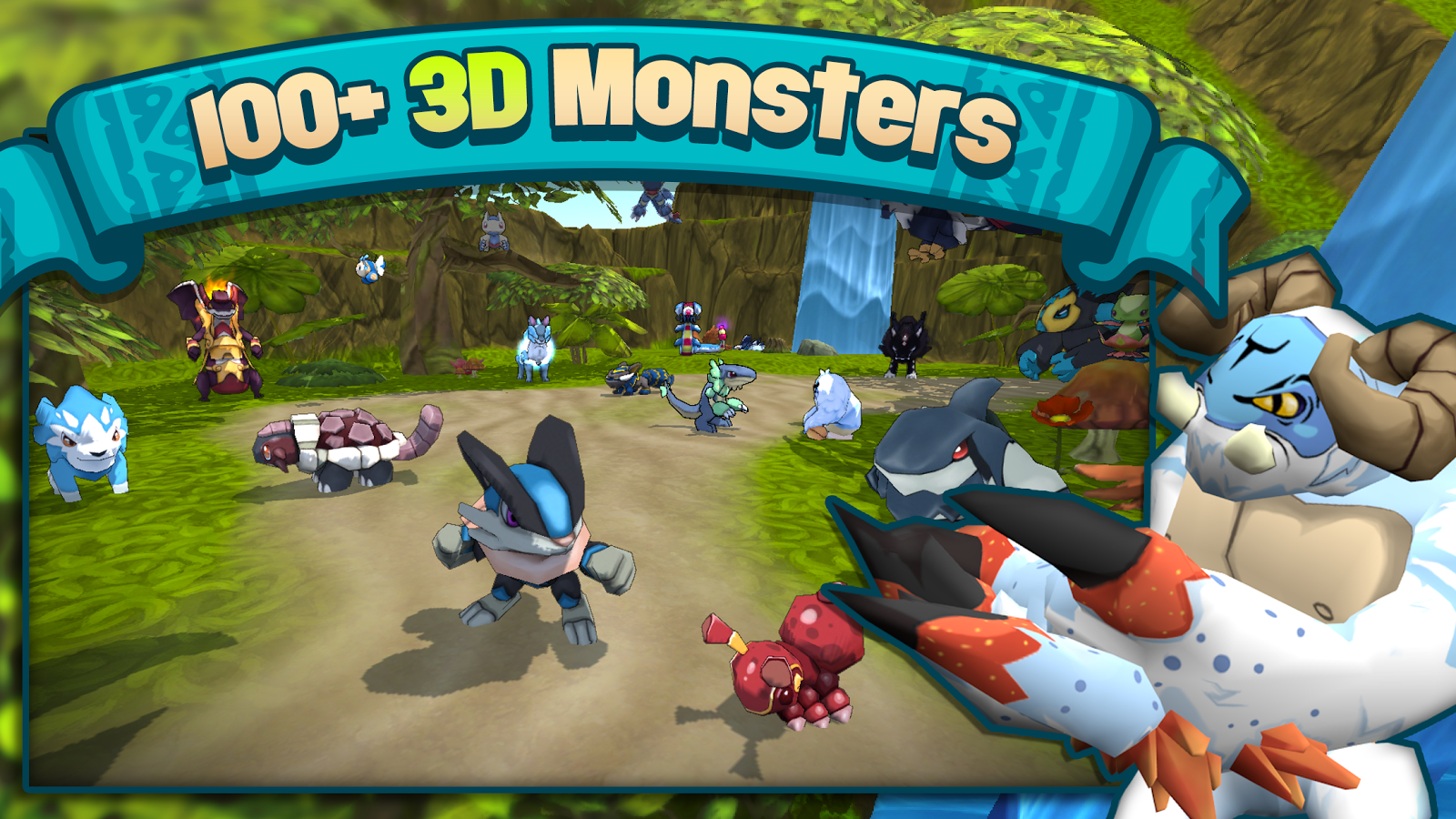 Terra Monsters 3 20 0 APK + OBB (Data File) Download