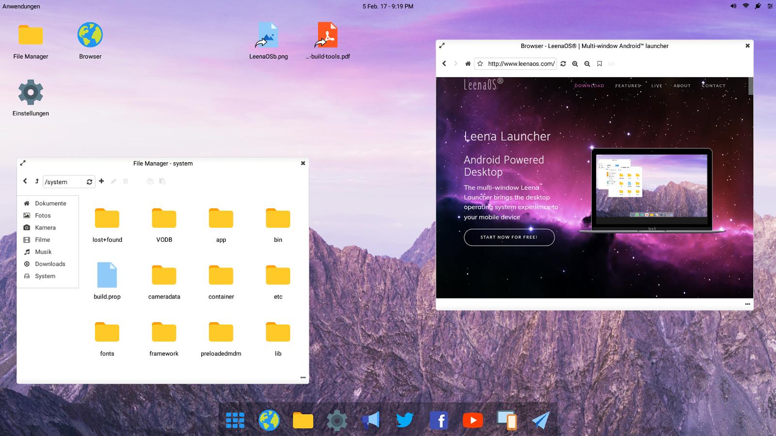 Leena Desktop UI (Pro) 0 4 2 pro APK Download - Android