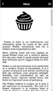 Pilates & Cake 1.0.0 screenshot 2