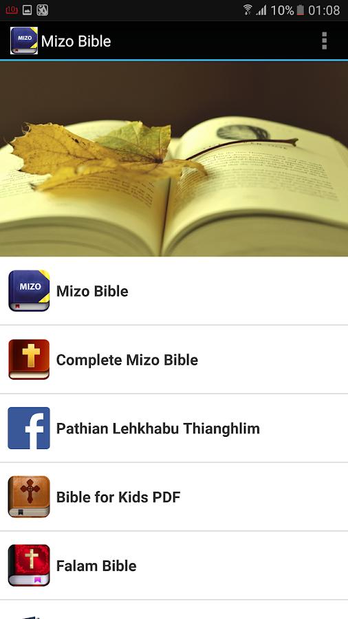 Mizo Bible - Chang Zawnawlna 1 0 APK Download - Android