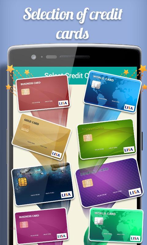 credit card apk