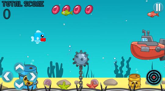 Blue Fish In The Ocean 1.1 screenshot 2