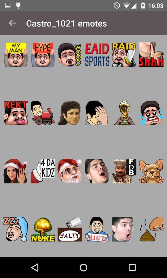 Emotes of Twitch (BetterTTV) 3 2 APK Download - Android