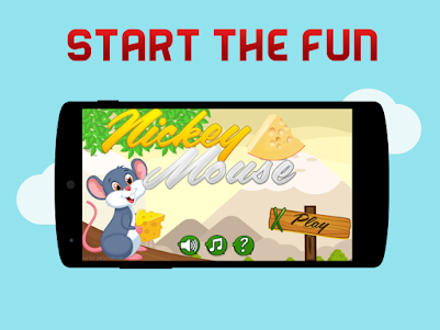 Nickey Mouse : Cheese lover 1.0 screenshot 2