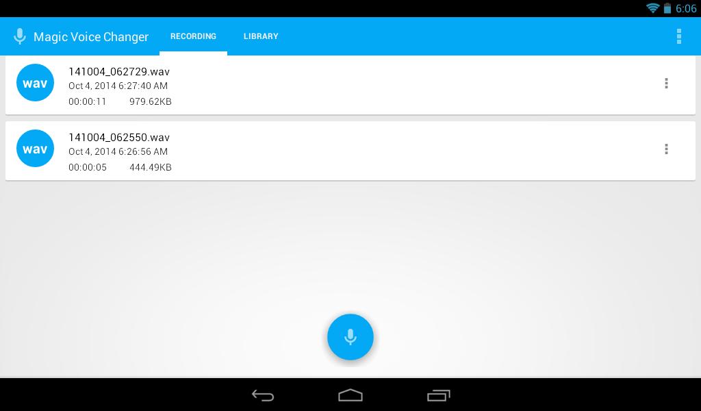 Magic Voice Changer APK Download - Android Entertainment Apps