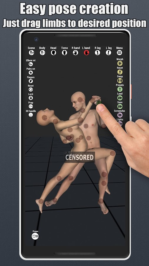 Art Model - 3D Pose tool and morphing tool 1 3 APK Download