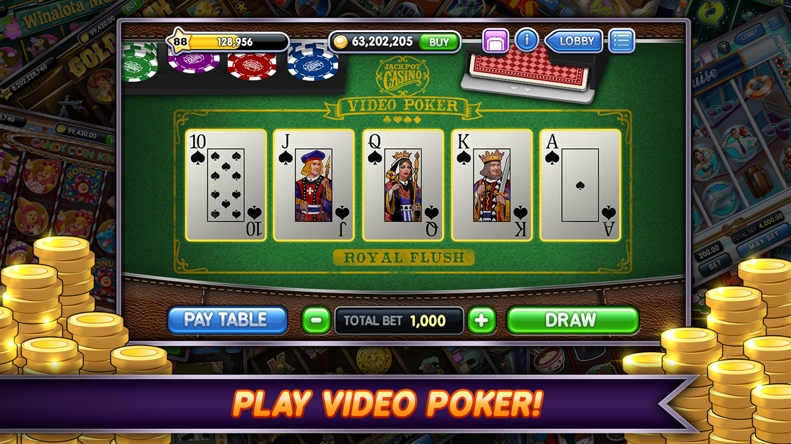 Jackpot Slots 1 23 16 APK Download - Android Casino Games