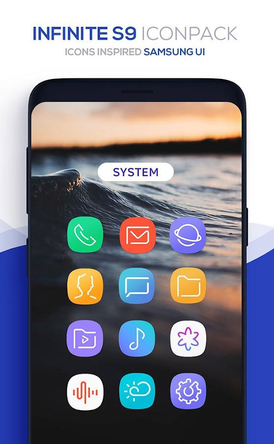com infinite S8 iconpack 3 7 APK Download - Android Personalization Apps