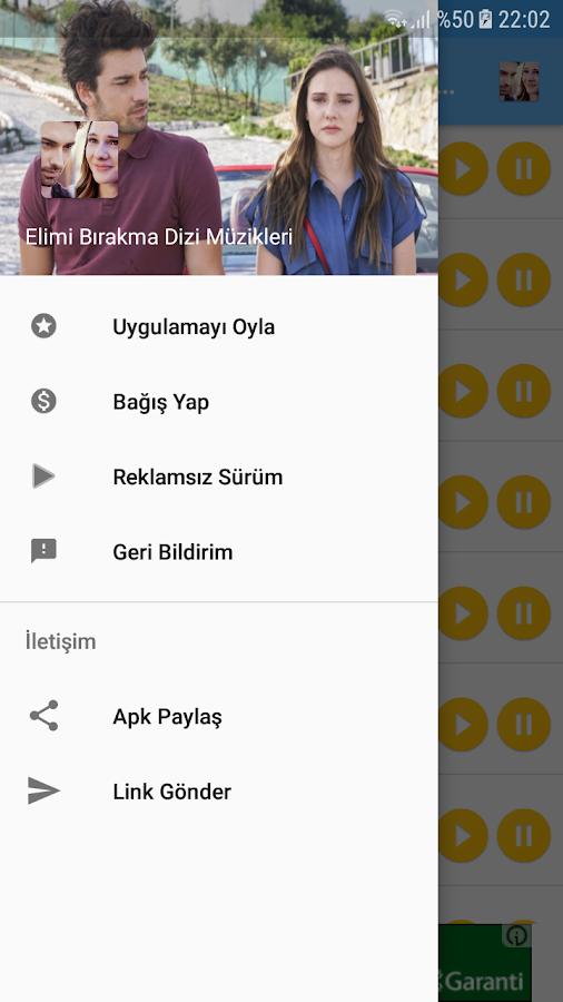 Elimi Bırakma Dizi Müzikleri 1 1 9 APK Download - Android Music