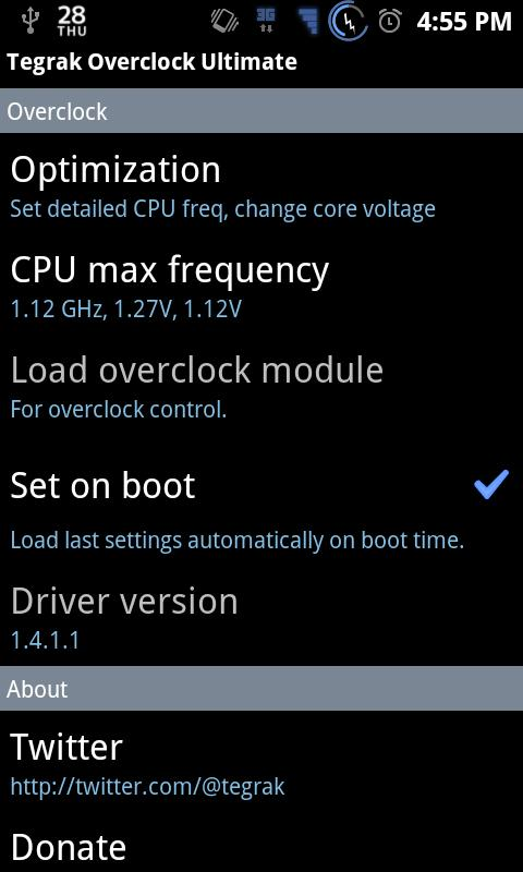 Tegrak Overclock Ultimate 1 9 12 APK Download - Android