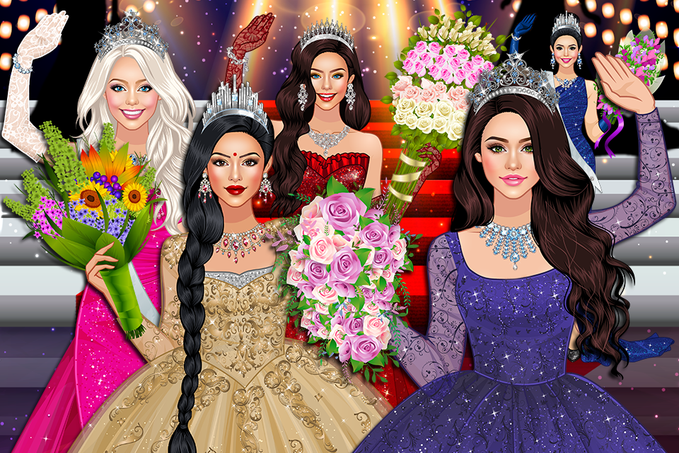 Beauty Queen Dress Up - Star Girl Fashion 1 0 7 APK Download