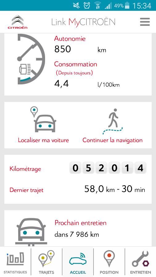 Link MyCitroën 1 4 9 APK Download - Android cats maps_navigation Apps