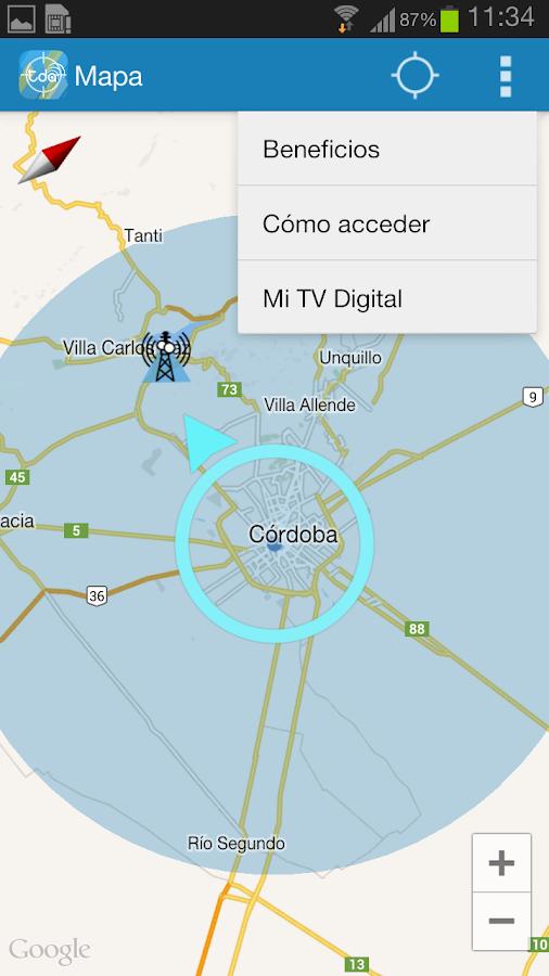 Buscador de antenas TDA 1 002 APK Download - Android