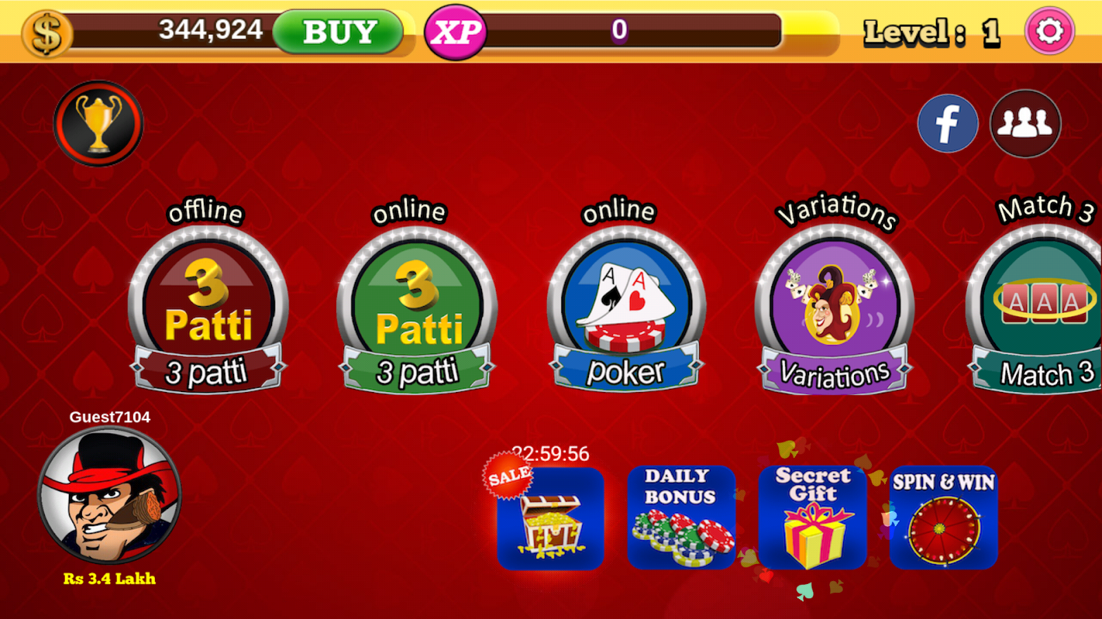 com byte3d teenpatti 3 6 2 APK Download - Android cats  Apps