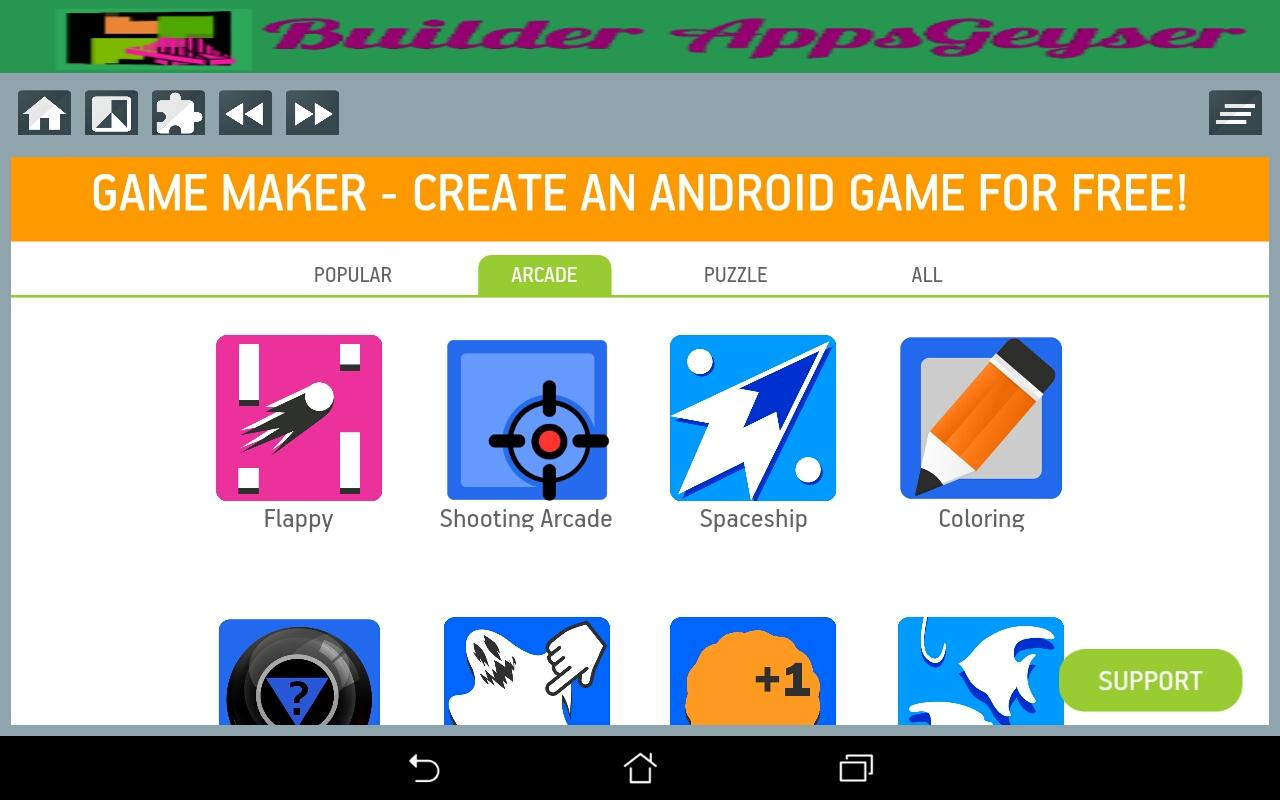 Appsgeyser Applications 1 1 APK Download - Android Tools Apps