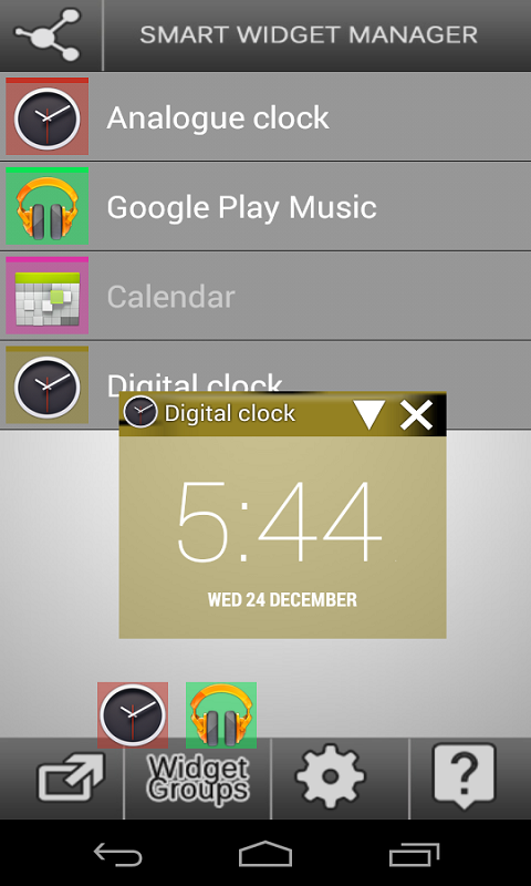 Smart Widget Manager 1 7 APK Download - Android Tools Apps