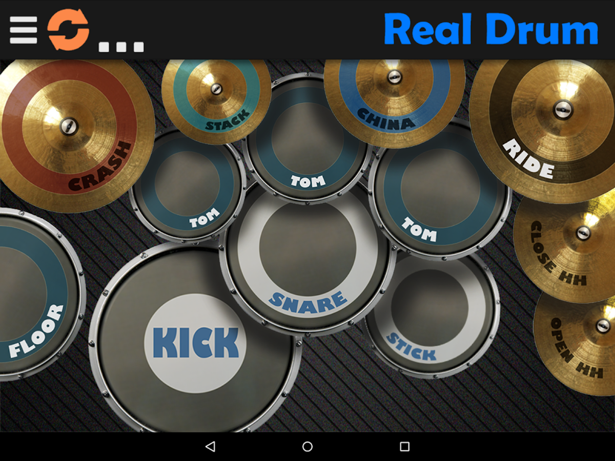 Real Drum 6 15 Apk Download Android Music Games