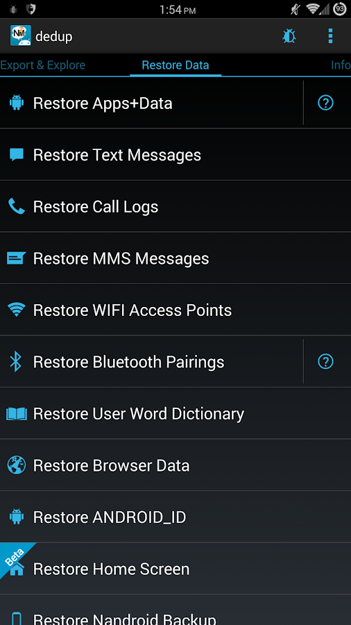 Nandroid Manager * ROOT 2 4 2 APK Download - Android Tools Apps