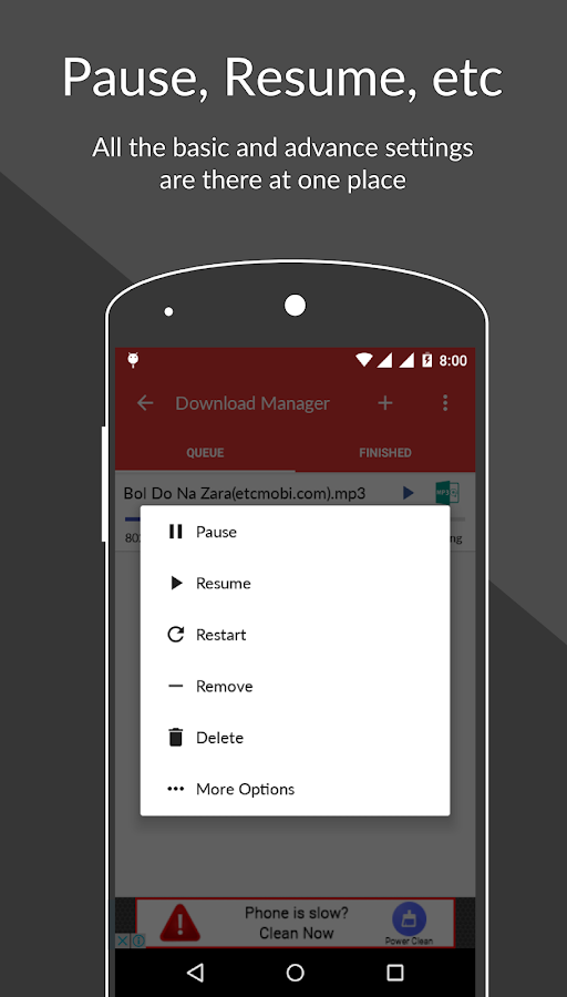 ADM -Internet Download Manager 17 2 2 APK Download - Android
