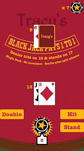 Blackjack Offline Mobile Poker 1.0.8 screenshot 1