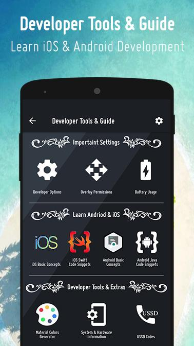 Options & Settings Code Snippets : Android & iOS 2 5 APK
