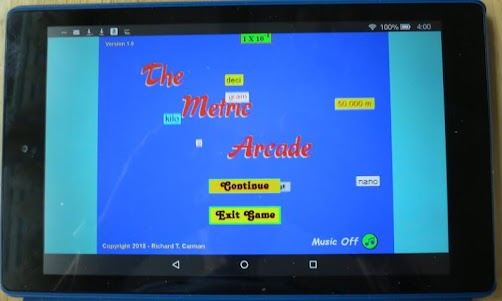 The Metric Arcade 1.0 screenshot 12
