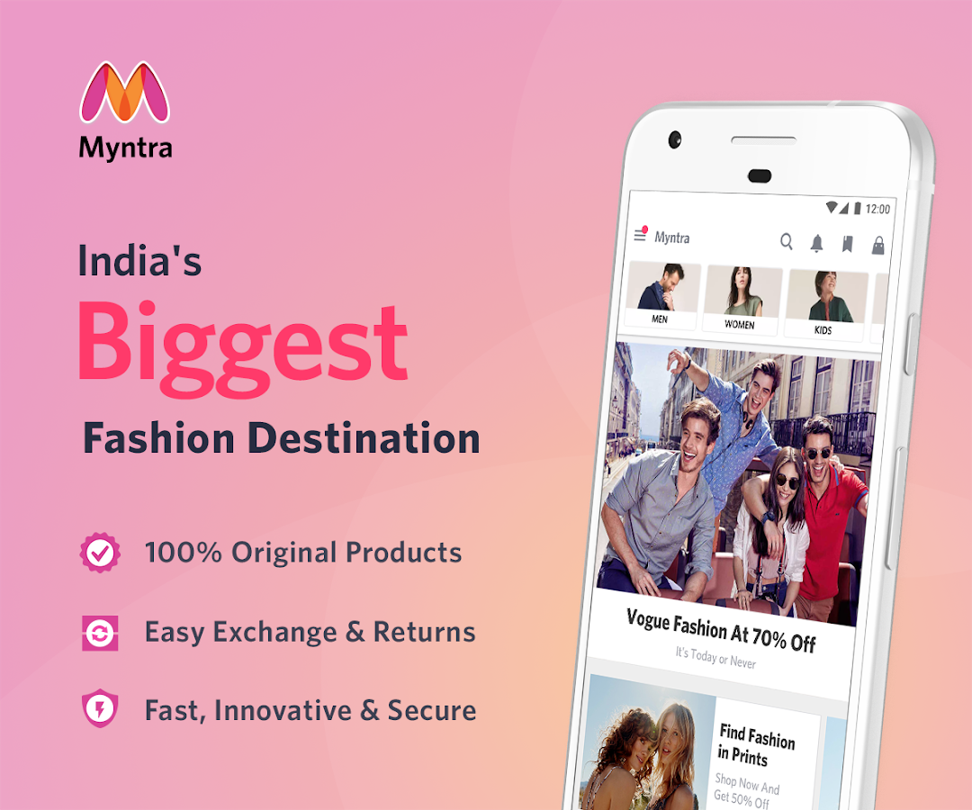 Myntra Online Shopping App 3.28.1 APK Download - Android Shopping Apps