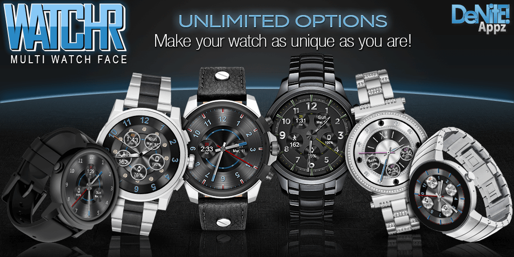 WatchR - Multi Watch Face & Clock Widget 3 1 1 1 APK Download