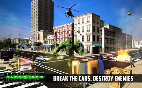 Superhero City Battle Monster Fighting 1.4 screenshot 3