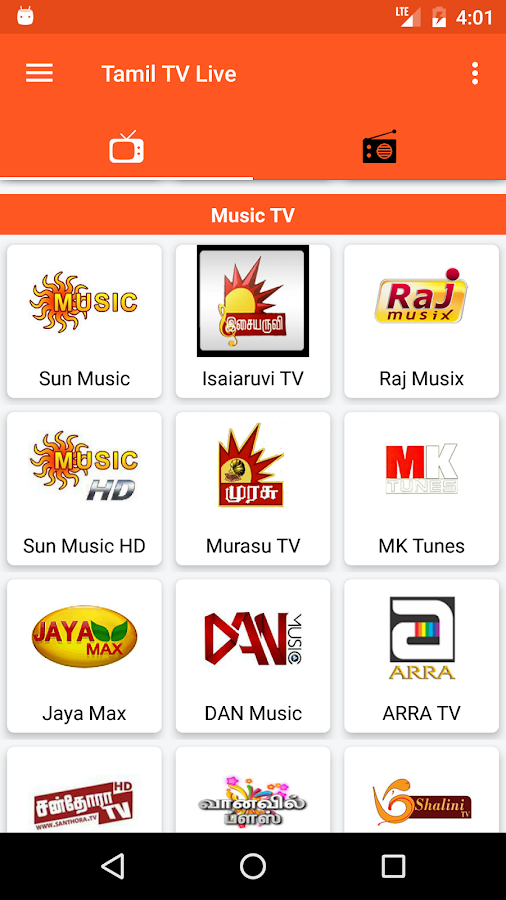 Tamil TV And Tamil FM Radio 1 7 APK Download - Android Entertainment