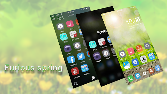 Furious spring theme for ABC 1.3.0 screenshot 1