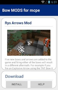 Bow MODS for mcpe 1.0 screenshot 5