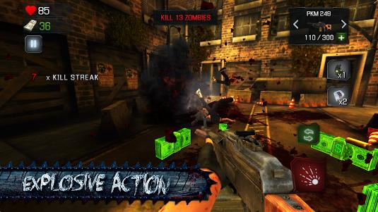 KILL DEAD: Zombie Shooter Call 1.5 screenshot 3