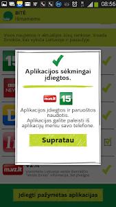 BITĖ išmaniems 1.1.1 screenshot 4
