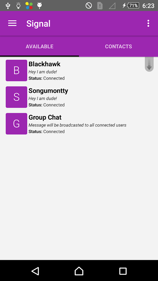 Signal Offline Messenger 5 0 APK Download - Android Social Apps