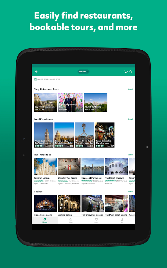 Tripadvisor Hotels Flights Restaurants Attractions Screenshot 15