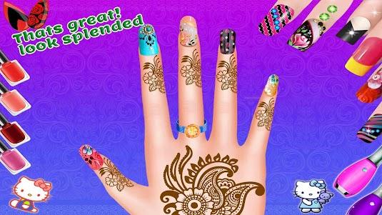 Girls Fashion Salon - Nail Art Makeup 1.4 screenshot 5