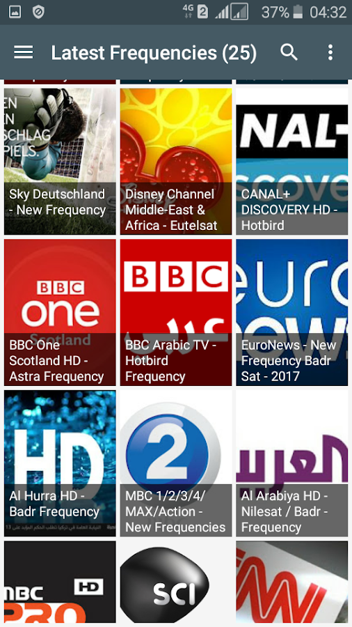 TV Channel Frequency (Freqode) 2 2 1 APK Download - Android