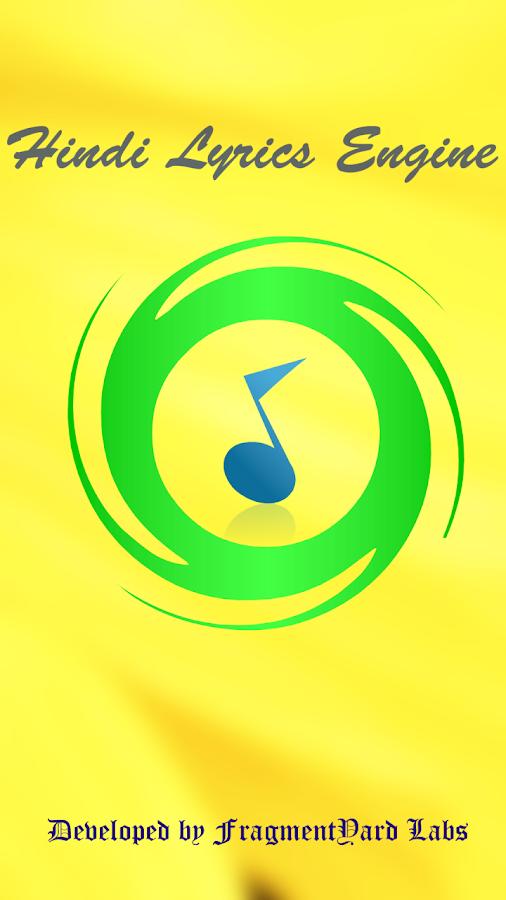 Hindi Songs Lyrics Engine 1 01 APK Download - Android Music & Audio Apps