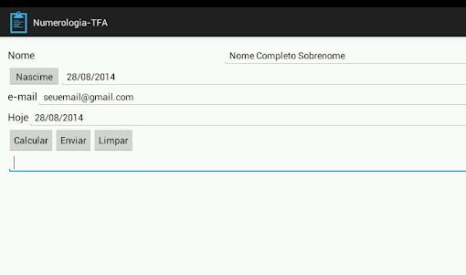 Numerologia-TFA 1.0 screenshot 6