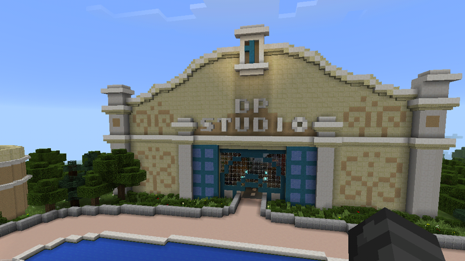 Disneyland Minecraft Map on